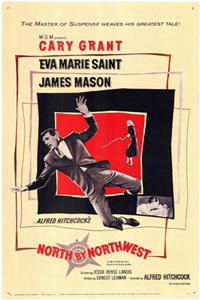 Poster for North by Northwest (1959)