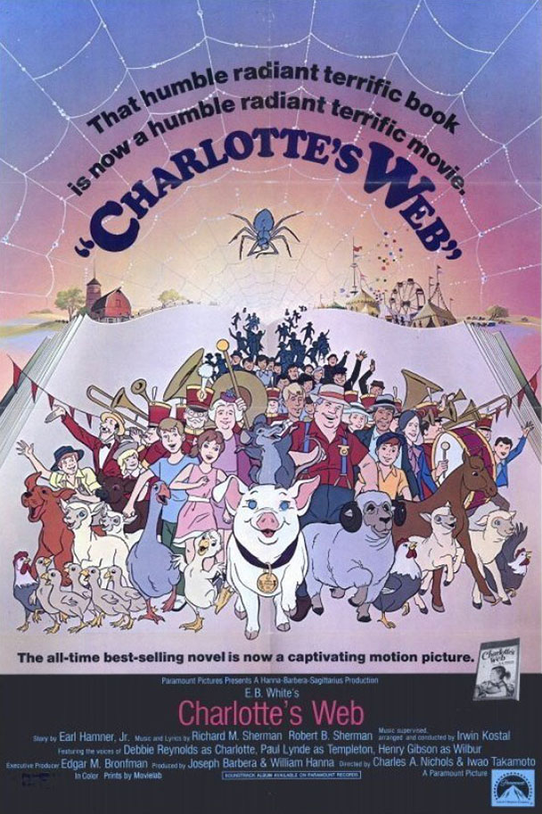 Poster of Charlotte's Web (1973)