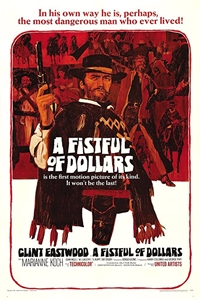 Poster for Fistful of Dollars (Per un pugno di dollari)