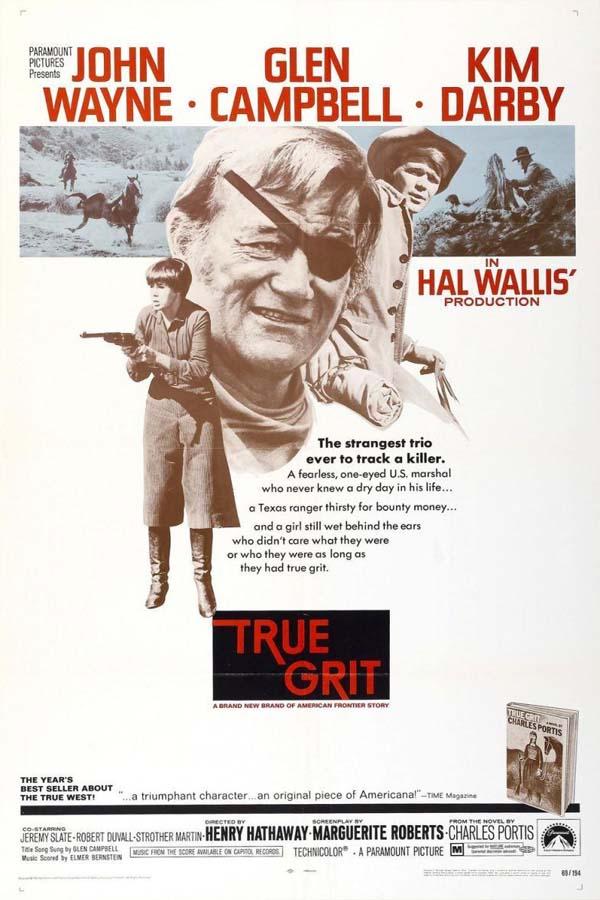 Poster for True Grit (1969)