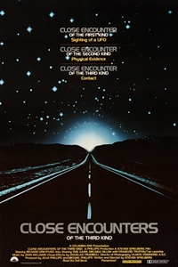 Poster for Close Encounters of the Third Kind