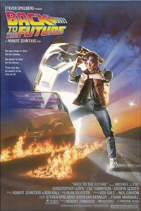 Poster ofBack to the Future