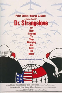 Poster for Dr. Strangelove, or How I Learned to Stop Worrying