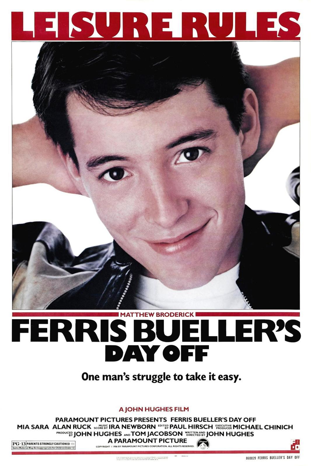 Poster for Ferris Bueller's Day Off
