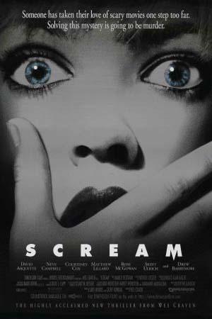 Poster for Scream (1996)