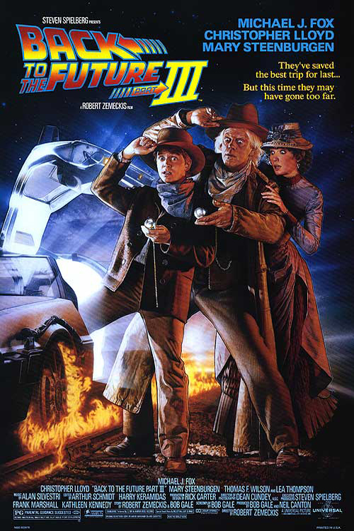 Poster of Back to the Future: Part III