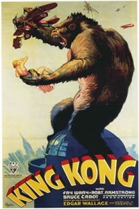 Poster of King Kong (1933)