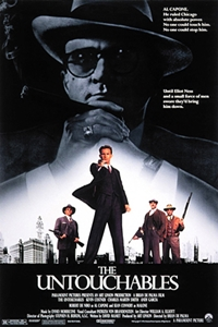Poster for The Untouchables (1987)