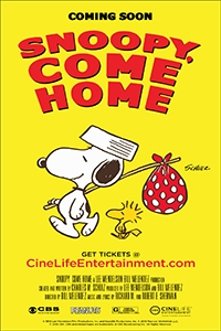 Poster of Snoopy Come Home