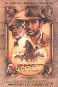 Poster for Indiana Jones and the Last Crusade