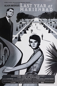 Poster for Last Year at Marienbad (L'Annee derniere a Marienb