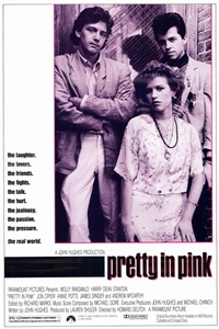Poster for Pretty in Pink