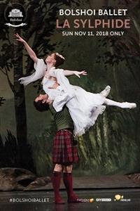 Bolshoi Ballet: La Sylphide Poster