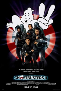 Poster for Ghostbusters 2