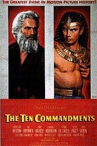 Poster of Ten Commandments (1956), The