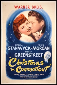 Poster for Christmas in Connecticut