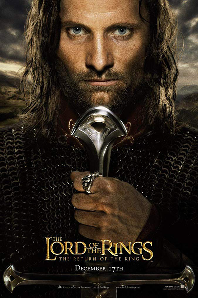 Lord of the Rings: Return of King Poster
