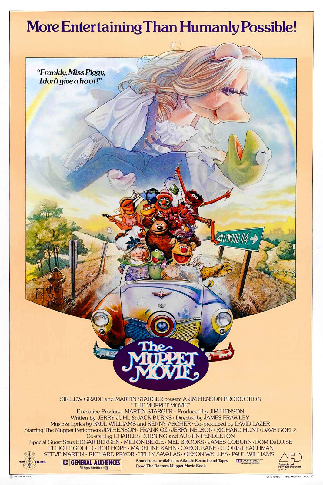 Poster for Muppet Movie, The
