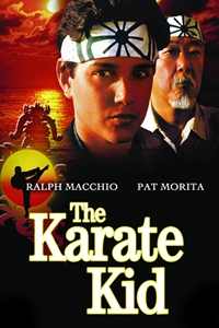 Poster for Karate Kid (1984) * SPECIAL $5 FEATURE *