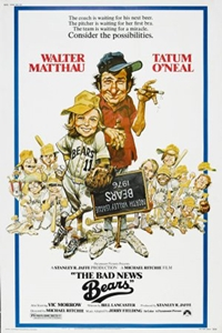 Poster for The Bad News Bears (1976)