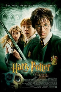 Poster for Harry Potter and the Chamber of Secrets