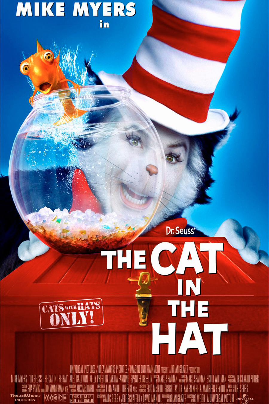 Poster of The Cat in the Hat