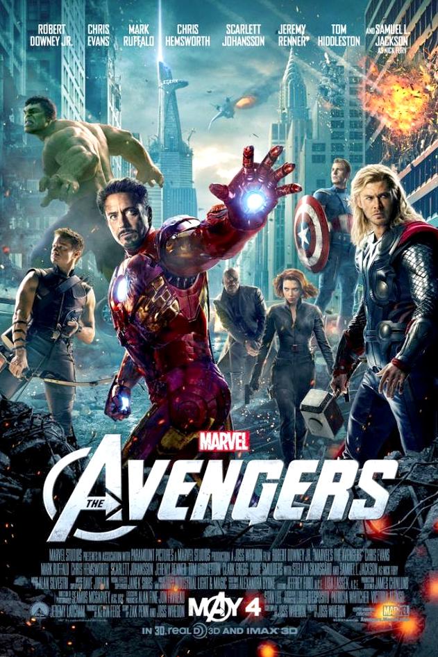 Poster for Marvel's The Avengers