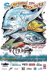 Poster of Fly Fishing Film Tour 2016