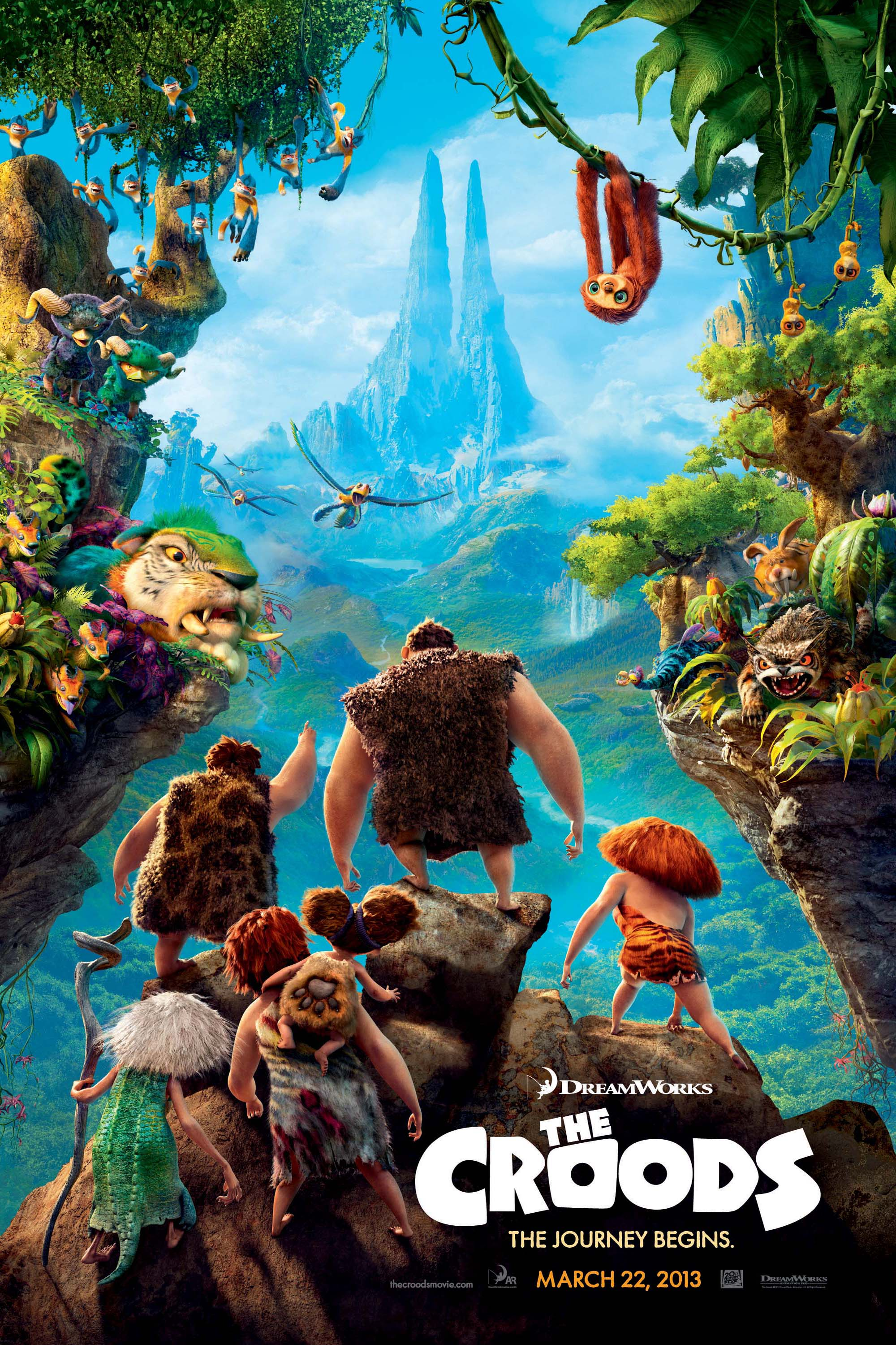 Poster for Croods, The