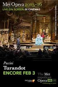 The Metropolitan Opera: Turandot (Encore) (2016)