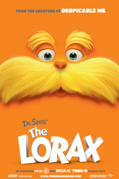 Poster of Dr. Seuss' The Lorax