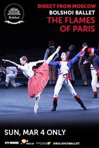 Bolshoi Ballet: The Flames of Paris (Les Flammes de Paris) Poster