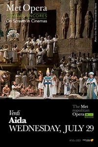 Poster of Aida Met Summer Encore (2015)