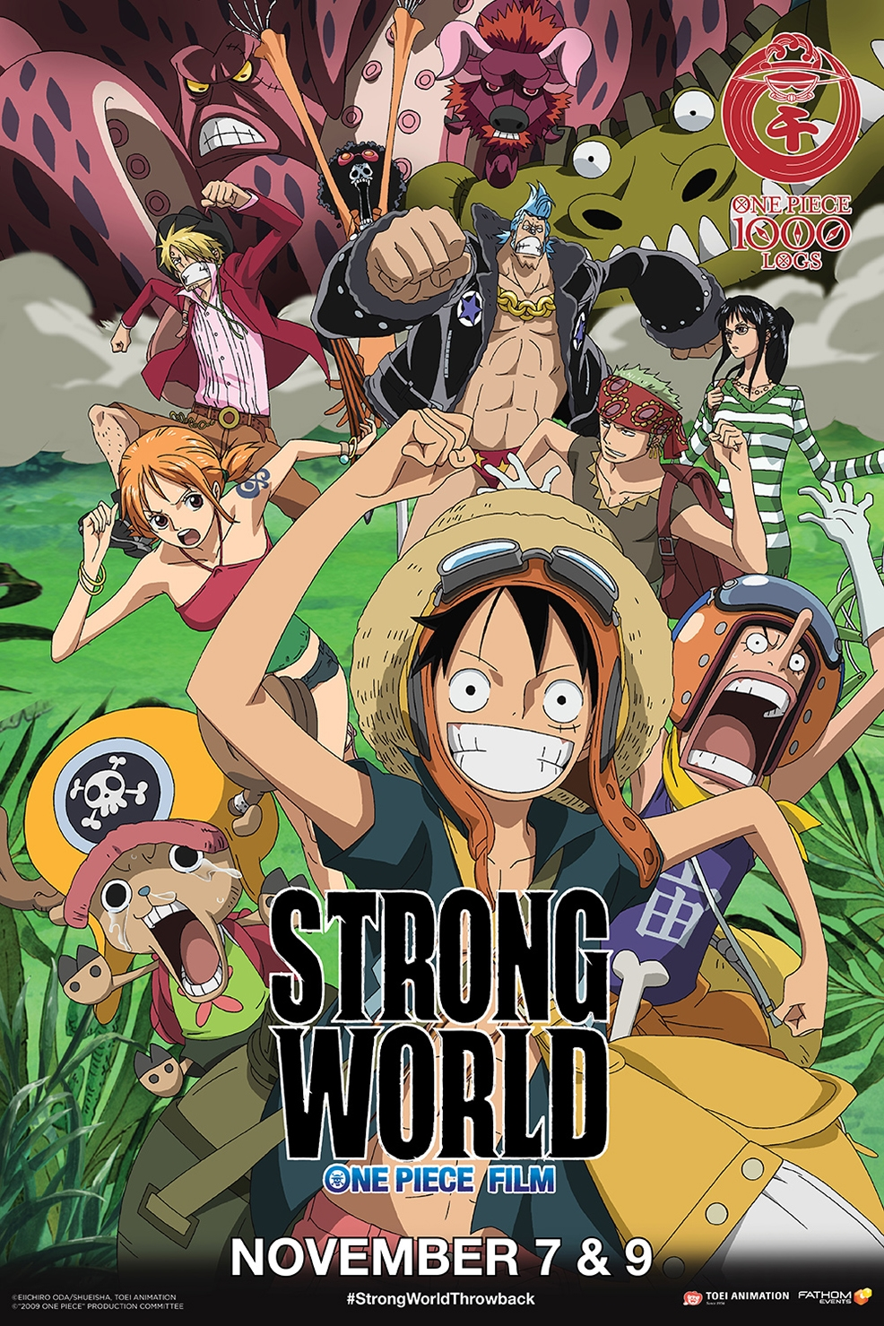 Poster of One Piece Film: Strong World