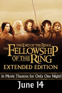 Poster ofLord of the Rings: The Fellowship of the Ring - Ex