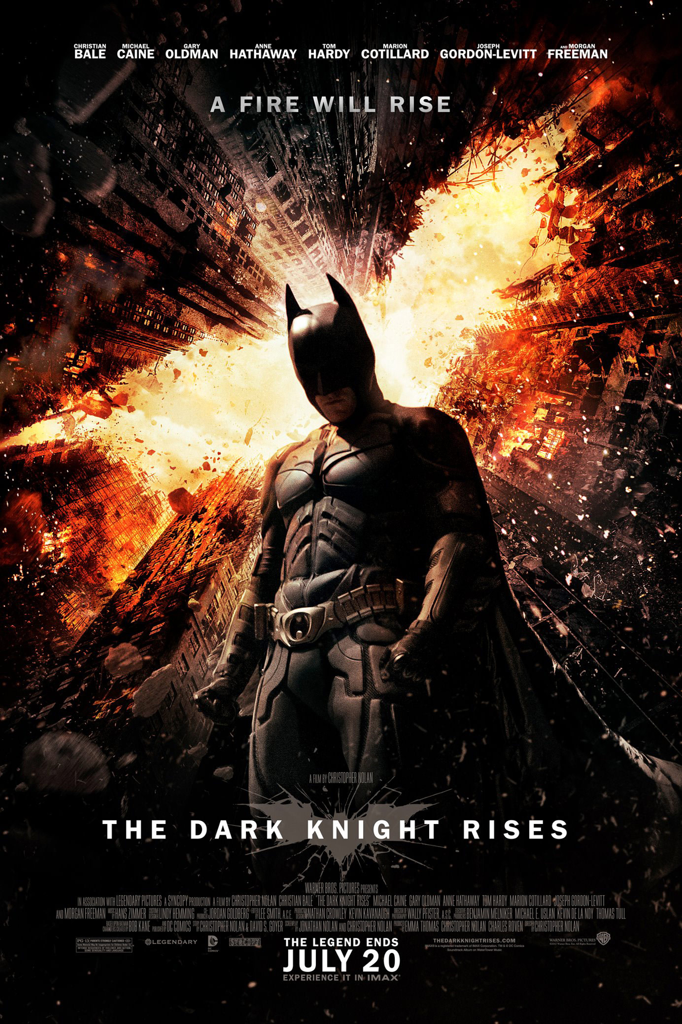 Poster for Dark Knight Rises, The