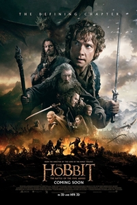 Poster for The Hobbit: The Battle of the Five Armies
