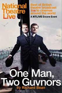 Poster for National Theatre Live: One Man, Two Guvnors
