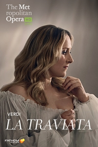 Poster for The Metropolitan Opera: La Traviata