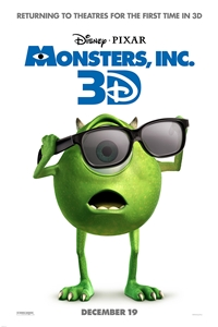 Poster of Monsters, Inc. 3D