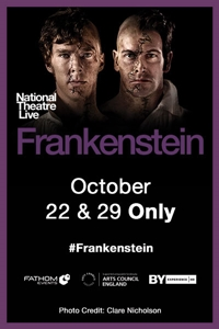 Poster for National Theatre Live: Frankenstein Encore 2018 (Cumberbatch as Creature)