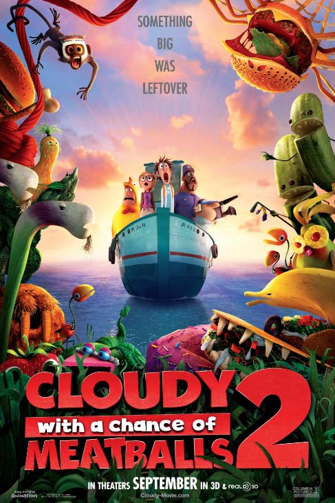 Poster of Cloudy With a Chance of Meatballs 2