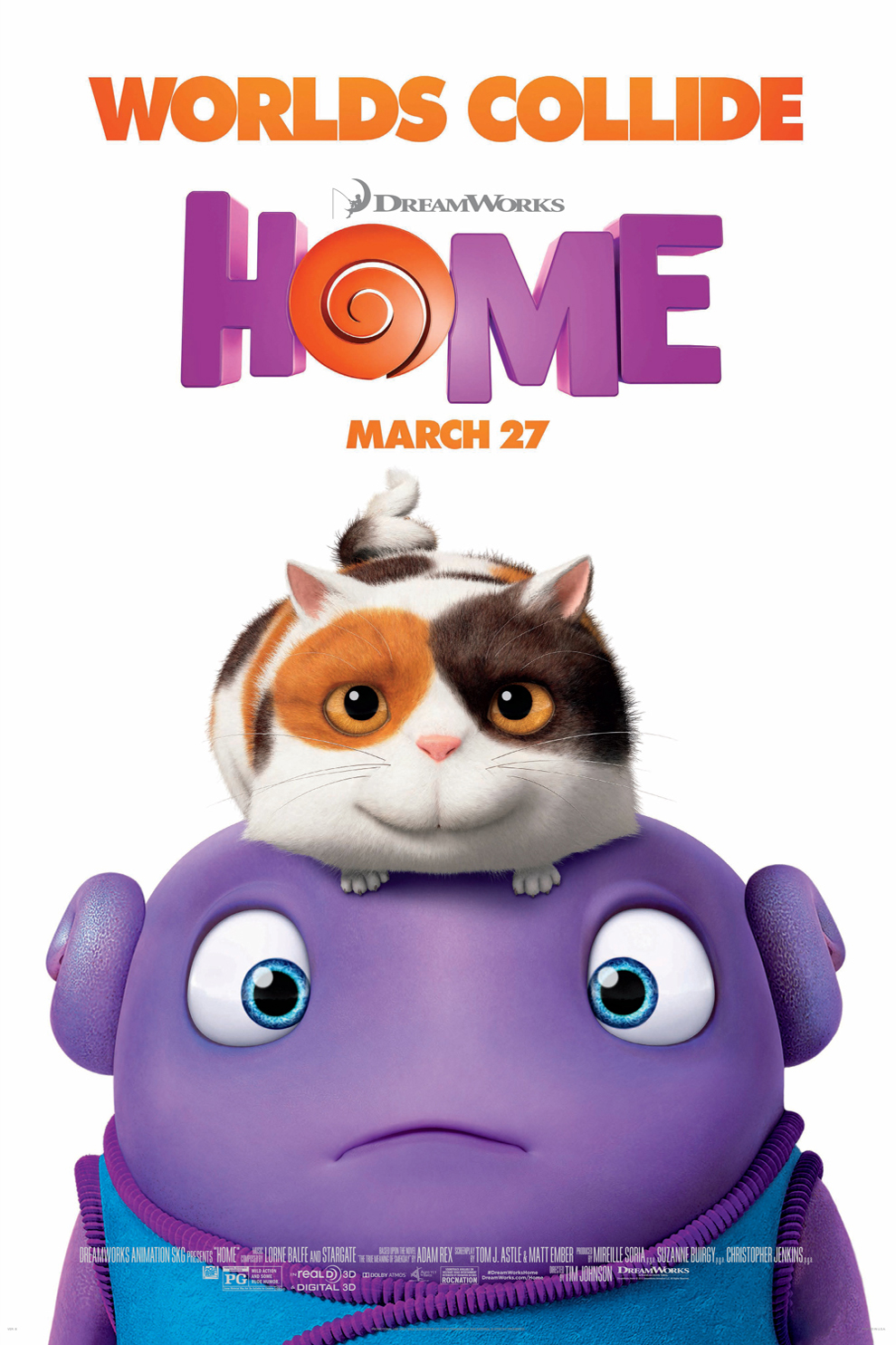 Home (2015/I) Poster
