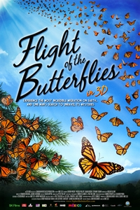 Poster for Flight of the Butterflies in 3D
