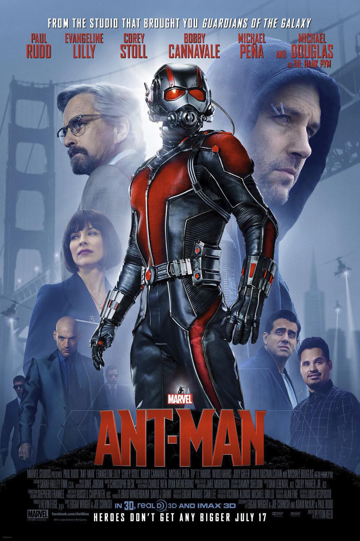 Image result for Ant-Man: El Hombre Hormiga (2015)