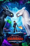 How to Train Your Dragon: The Hidden World 3D Poster