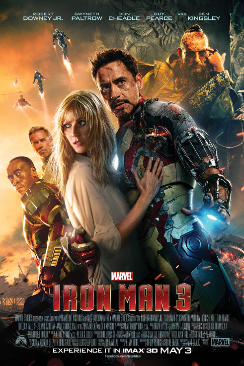 Image result for Ironman 3 release