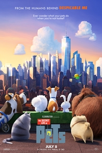 Poster ofThe Secret Life of Pets