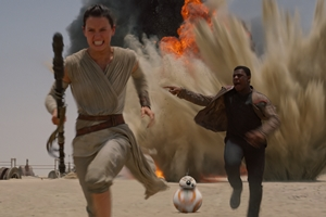 Still #1 forStar Wars: The Force Awakens
