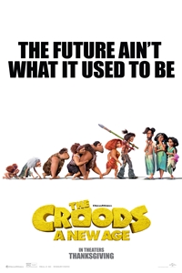 Poster of Croods: A New Age, The